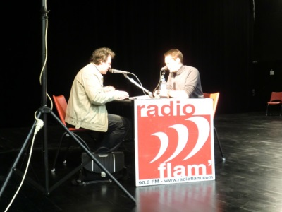 interview radio Flam